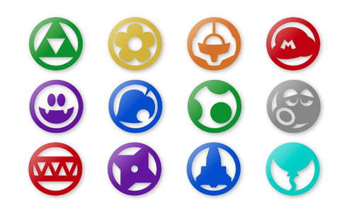 Nintendo Land Icons